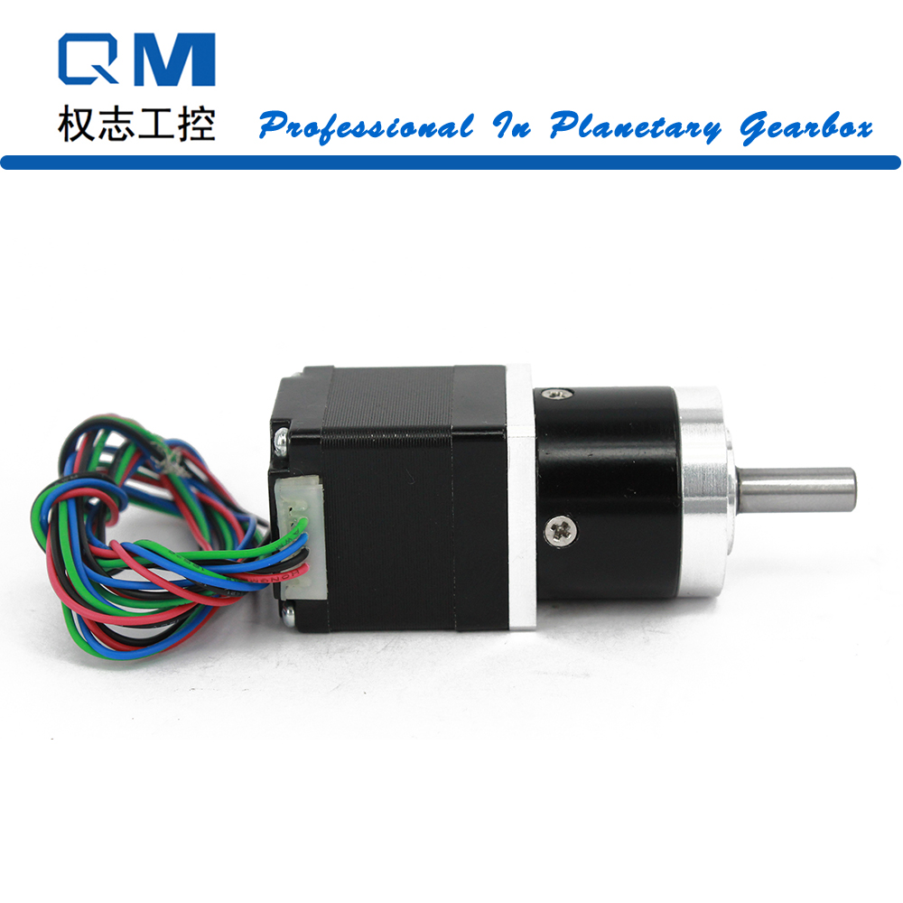Nema 11 Stepper Motor 30mm 4-Lead Gear Stepper Motor 0.24Nm     Gear Ratio 4:1 Planetary Reduction Gearbox nema23 geared stepping motor ratio 50 1 planetary gear stepper motor l76mm 3a 1 8nm 4leads for cnc router