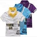 Promoción, Nueva Marca de moda muchachos de Los Niños del Algodón de manga Corta Camisetas de Estilo Indio, Apto para 5-16 años niños