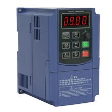 Three Phase Input Three Phase Output Frequency Converter VFD frequency converter 380V 2.2KW 0 75kw 1hp 300hz general vfd inverter frequency converter 3phase 380vac input 3phase 0 380v output 2 1a