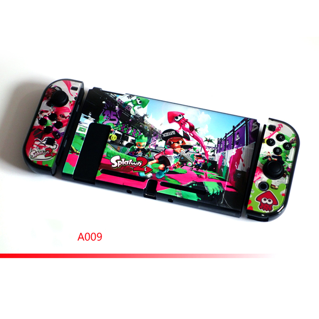 Nintend Switch NS Accessories Hard PC Protective Pattern Hard Skin Nintendos Crystal Shell for Nintendo Switch Console  3