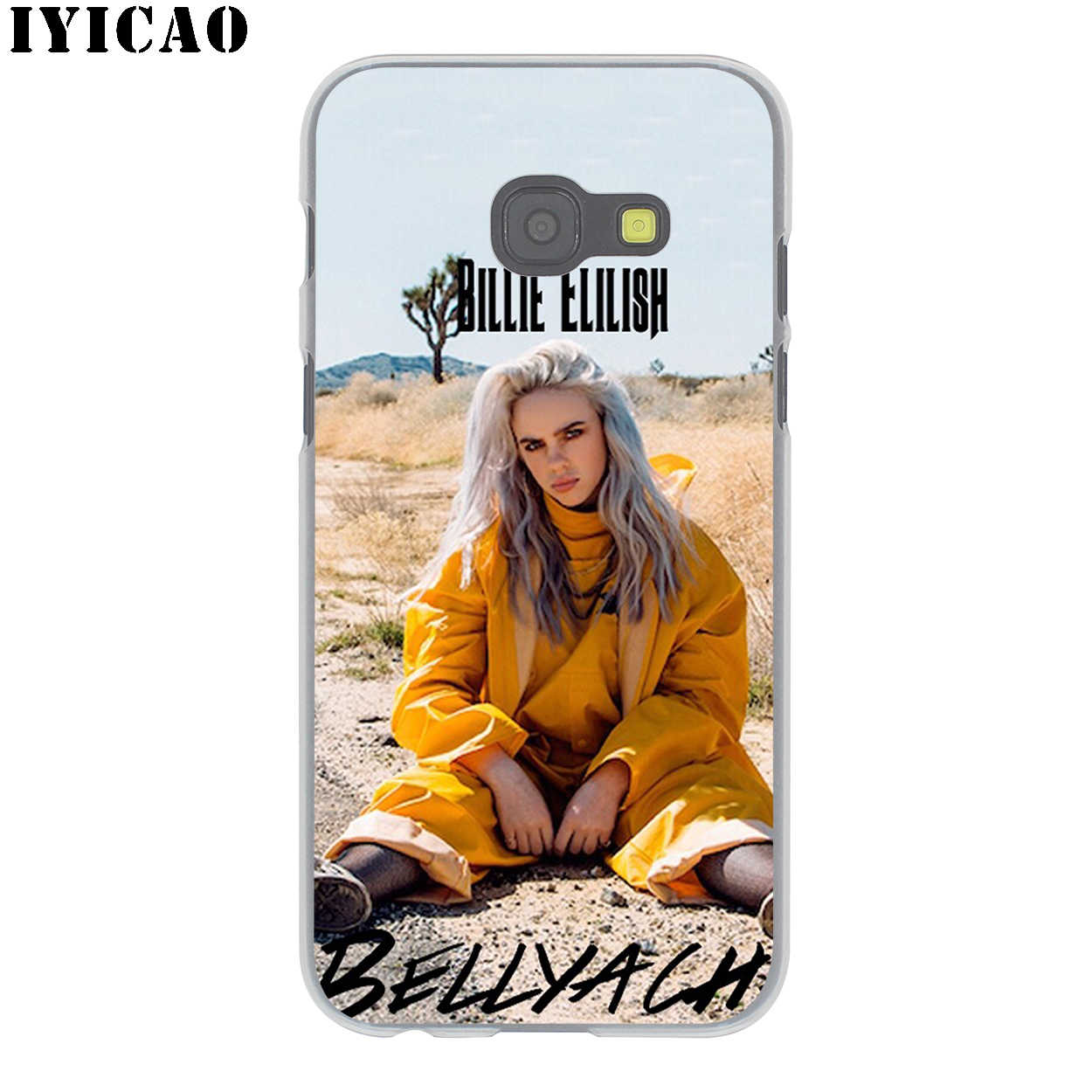 Billie Eilish 13 Fille Noir pour Samsung Galaxy A3 A5 A6 A7 A8 Plus A9 A10 A30 A40 A50 A70 M10 M20 M30 A10S A20S A30S A40S A50S