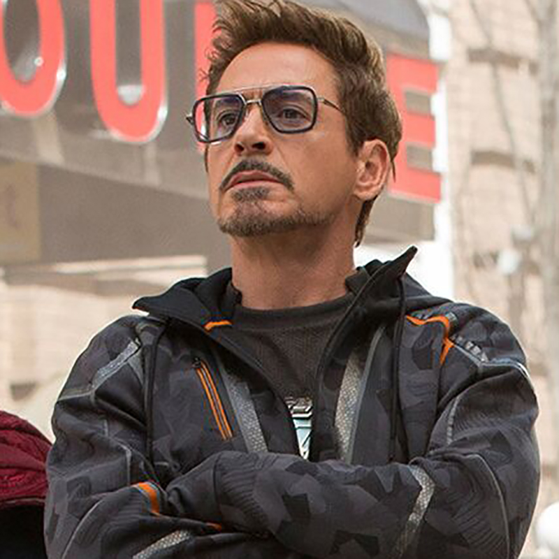 Image 4 - Iron man Tony Stark sunglasses myopia Robert downey jr Avengers  steampunk anti blue light photochromic Spider Man Edith Glasses-in Men's Sunglasses from Apparel Accessories