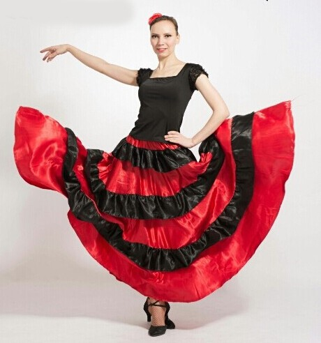 DB23542 flamenco costumes-10