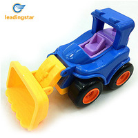 LeadingStar 12Pcs Inertial Engineering Vehicle Toys Crane Mixer Truck Excavator Dumper Bulldozer Steamroller Cartoon Model ZK15