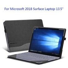"""Ноутбук рукав для microsoft поверхности ноутбука 2 13,"""" лоскутное из искусственной кожи чехол microsoft поверхности 1 13,5"""" подарок"""