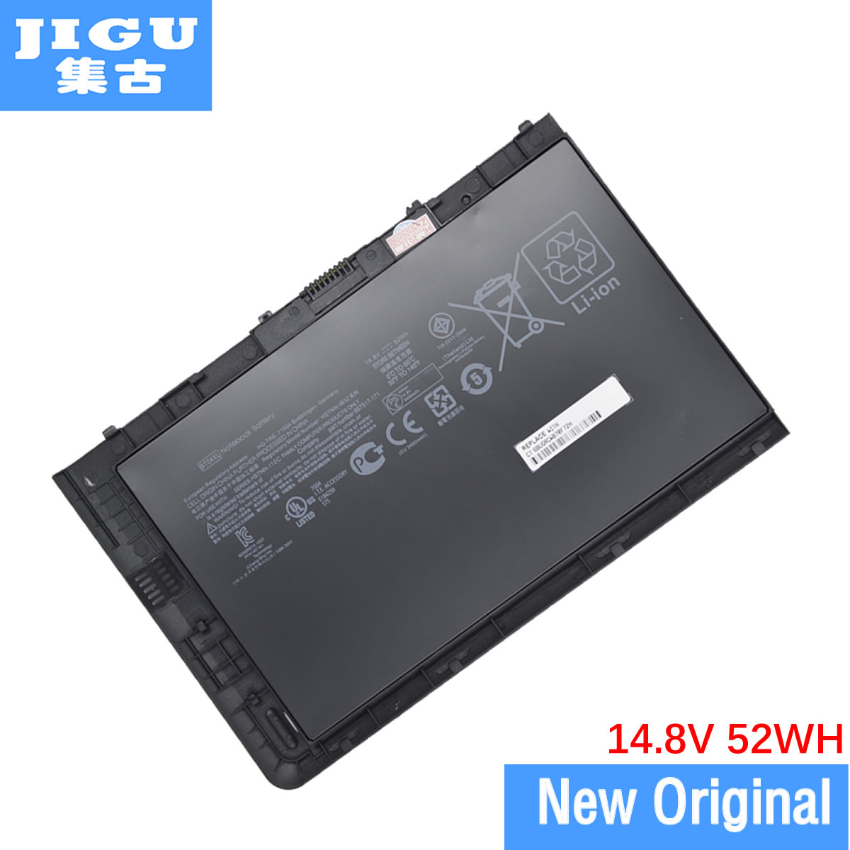 JIGU Original Laptop Battery BT04XL HSTNN-DB3 ZHSTNN-I10C 687517-2C1 HSTNN-IB3Z 687945-001 For HP FOR EliteBook Folio 9470m jigu laptop battery bl06042xl bl06xl hstnn db5d hstnn ib5d hstnn w02c for hp for elitebook folio 1040 g0 g1 l7z22pa