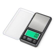 Мини портативные ювелирные весы точные ЖК электронные цифровые карманные весы золотистый, серебристый, цвета алмаза вес ing грамм Вес весы