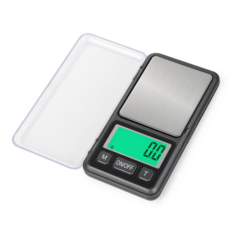 Mini Portable Jewelry Scale Precision LCD Electronic Digital Pocket Scale Gold Silver Diamond Weighting Gram Weight Scales