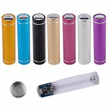 High Quality Multicolor New Hard Universal USB 5V 1A Mobile Power Bank Charger Pack 18650 Battery Case Box External Kit Case