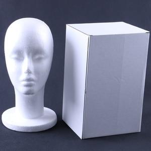Подставка для головы манекена HARMONY 1 шт., пенопластовый манекен для дисплея, волос, париков, волос, очков, шляп и ювелирных изделий