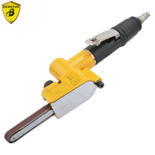 цена на Air Belt Sander Pneumatic Air Belt Sander 10mm*330mm Sanding Tool Air Pneumatic Sanding Tools Orbital Air Sander Tooling Machine