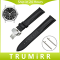 Quick Release Watch Band Butterfly Buckle Strap for Hamilton Men Women First Layer Genuine Leather Wrist Bracelet 18mm 20mm 22mm