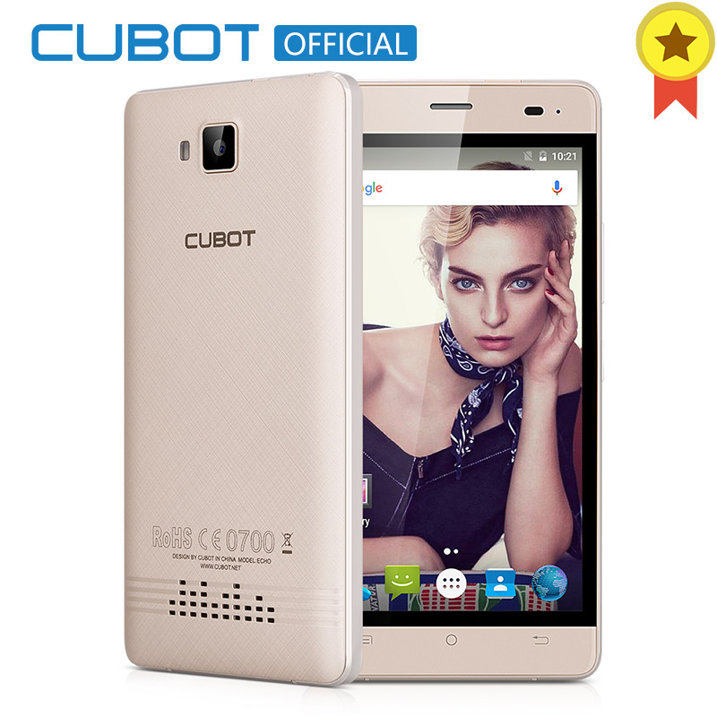 CUBOT ECHO 5.0 Inch 3000mAh Unlocked Smartphone Android 6.0 s