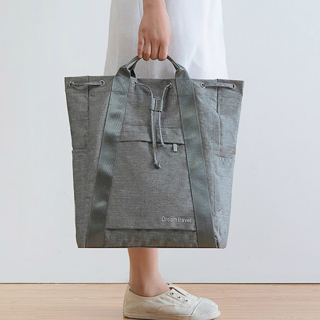 Waterproof Women's Travel Bag Girl's Cute Messenger Handbag Clothes Storage Organizer Shoulder Accessories Supplies Product Gear 2
