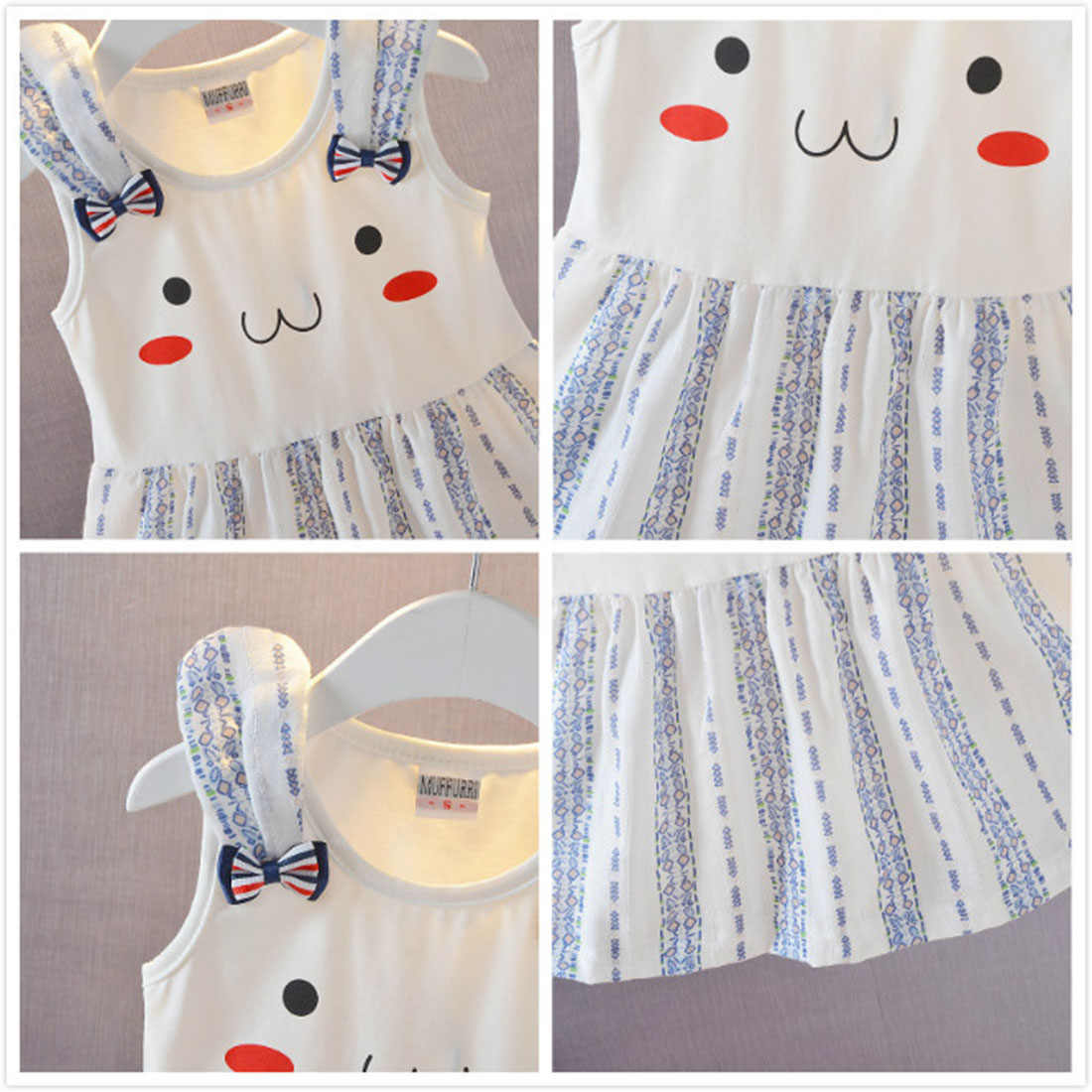 Ubrania dla dzieci kamizelka z krótkim rękawem Flower Party dziewczyna maluch tutu siatki letnie nowe dzieci sukienka bawełna koreański ananas sukienka słodkie