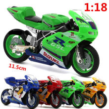 Motorcycle racing simulation toys, model alloy ornaments, 1:18 model free shipping hot, off-road enthusiasts Favorites(China)