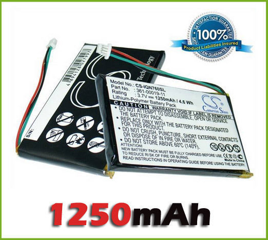 GPS Battery for Garmin Nuvi 760, Nuvi 760T (pn 361-00019-11) new free shippingGPS Battery for Garmin Nuvi 760, Nuvi 760T (pn 361-00019-11) new free shipping