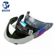 bcd0d2c7 Full face motorcycle helmet visor 4 colors for ls2 ff384/ ff351 /FF369  FF352 HZYEYO