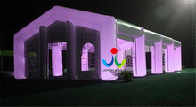 20X10m Led Party Event Inflatable Cube Tent, Inflatable Marquee Tent from China Four-season Tent Dome Inflatable PVC
