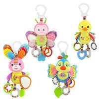Neugeborenen Baby Kinderwagen Hängen Spielzeug Niedlichen Tier Puppe Bett Hängen Plüsch Spielzeug Rassel Bett Glocke Aktivität Weiche Spielzeug Schlaf Gut werkzeug