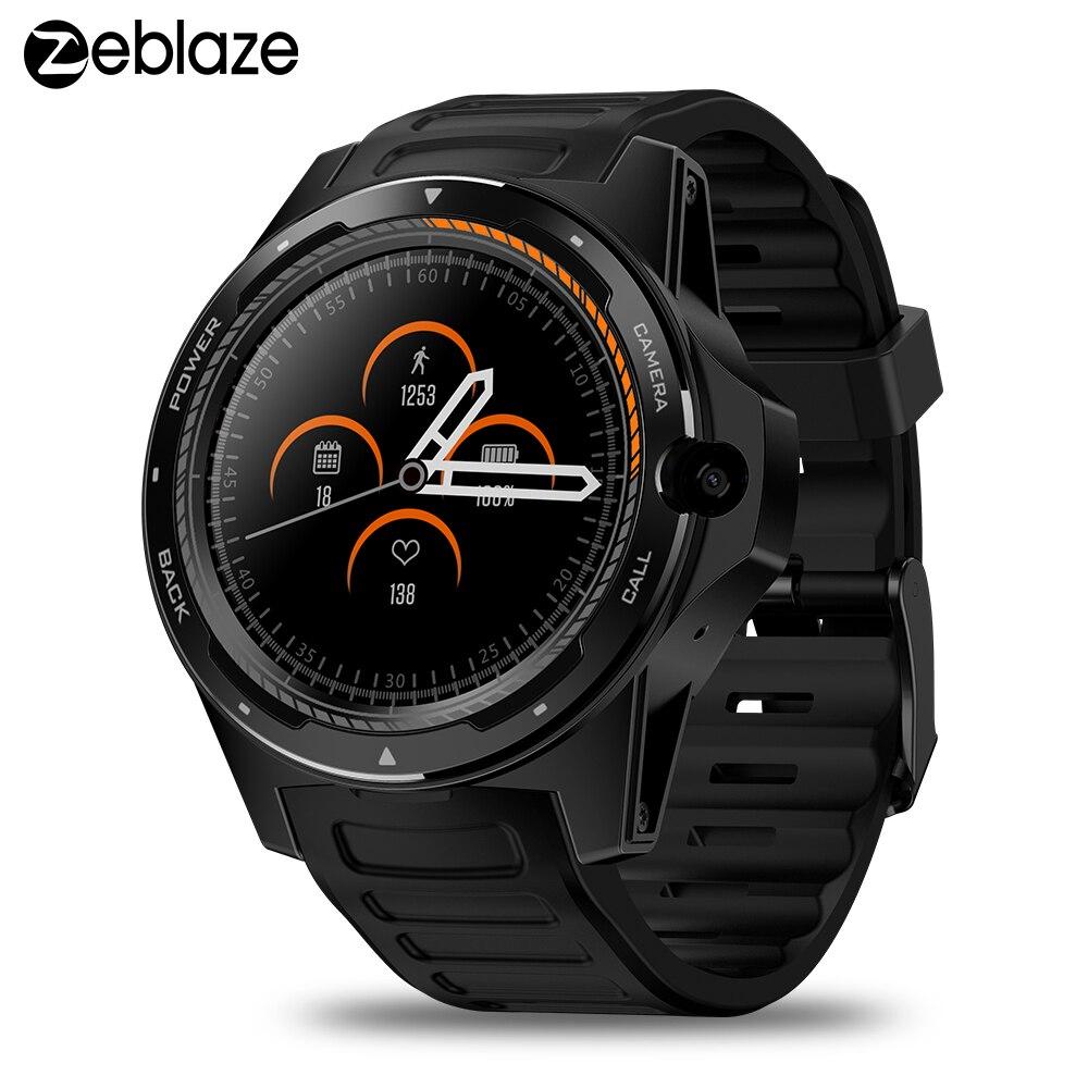 THOR Zeblaze 5 4G Telefone smartwatch Relógio Inteligente 2GB + 16GB 8.0MP reloj inteligente Da Câmera dos homens inteligente relógio De Pulso GPS WIFI BT