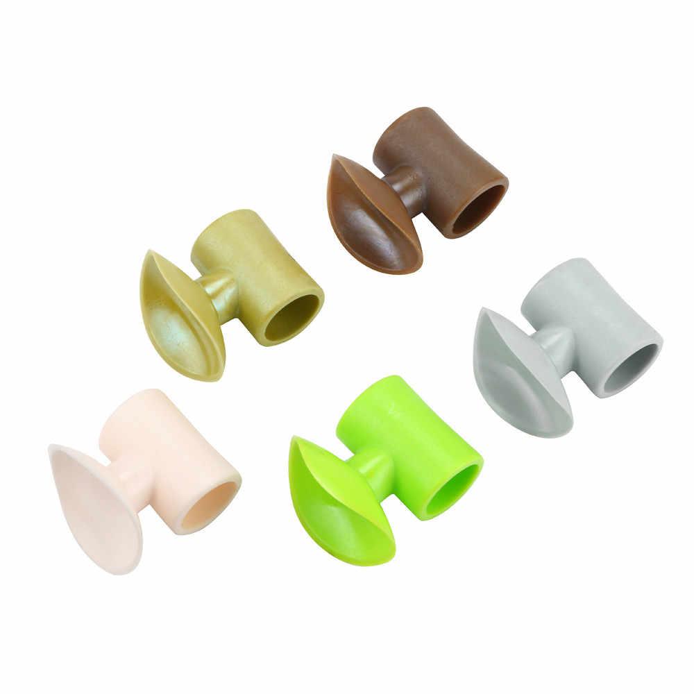 1 PC Renkli Kapı Kilidi Koruyucu kauçuk ped Enayi Çamurluk Kolu Duvar Faydalı Ev Kaynağı Korumak için Plastik #10