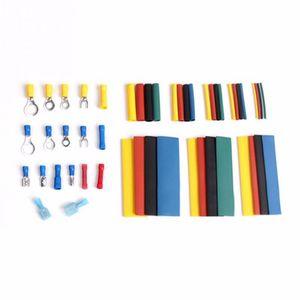 Image 4 - 558 pièces PVC et cuivre thermorétractable Tube gaine Kit voiture fil bornes électriques sertissage connecteurs avec boîte en plastique Drop Shopping