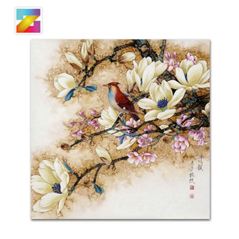 Flower yulan orchid 3d diy diamond painting cross stitch for Mosaic home decor