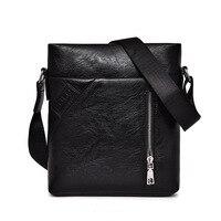 Men Messenger Bag Vintage Men S Crossbody Bag Bolsas Male Famous Brand Polo Design Pu Leather