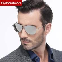 d97f874590 2018 Raydem Lentes De Sol De Mujer De marco De Metal, gafas Masculino polarizado  gafas De Sol hombres conductor gafas De Sol pil.