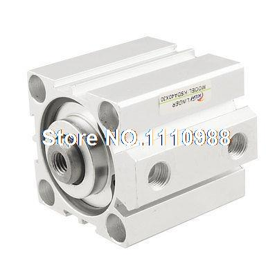 1.0MPa Dual Acting 40mm Bore 30mm Stroke Double Rod Air Cylinder cxsm32 30 high quality double acting dual rod piston air pneumatic cylinder cxsm 32 30 32mm bore 30mm stroke with slide bearing