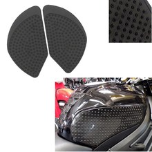 Motorcycle Rubber Traction Pad Gas Tank Grip Knee for 2017 Kawasaki Z650 ZR650 Sticker Decal