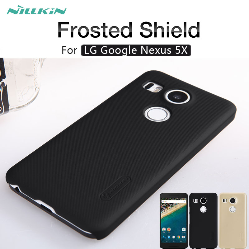 For LG Nexus 5X case NILLKIN Frosted Shield matte hard ...