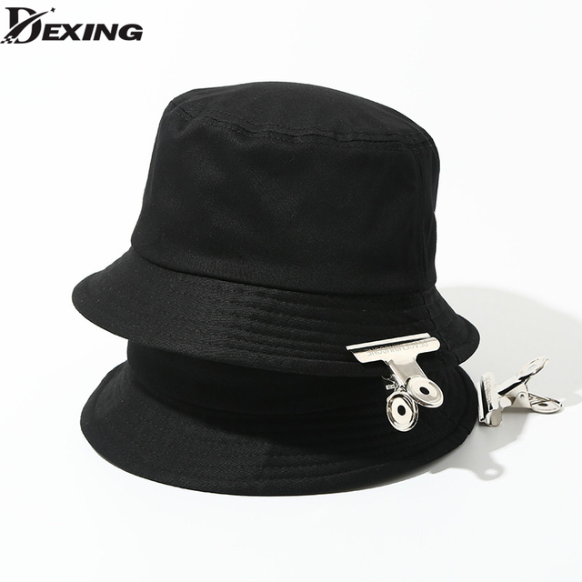 GD KPOP Fashion Unisex Bucket Hat Adult Panama Men Women Street Hip Hop Caps  Fishing Hat 5f8af38e076