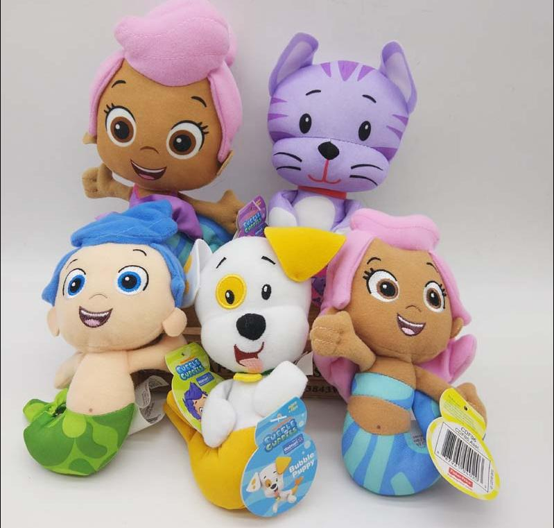 New Nickelodeo Bubble Guppies Gil Molly & Puppy 6