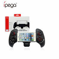 Ipega PG-9023 텔레스코픽 블루투스 게임 핸들 무선 게임 패드 컨트롤러 ios 안드로이드 pc 용 듀얼 모드 조이스틱