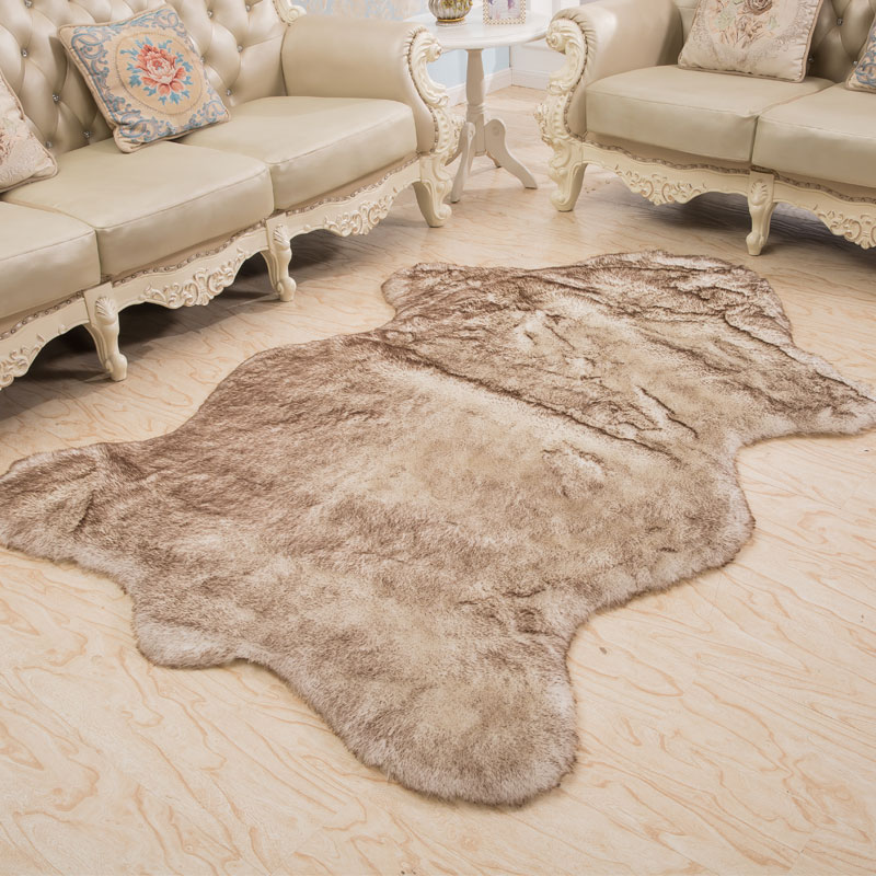1x1.5m Wool Rug Home Sheepskin Faux Fur Area Rugs And