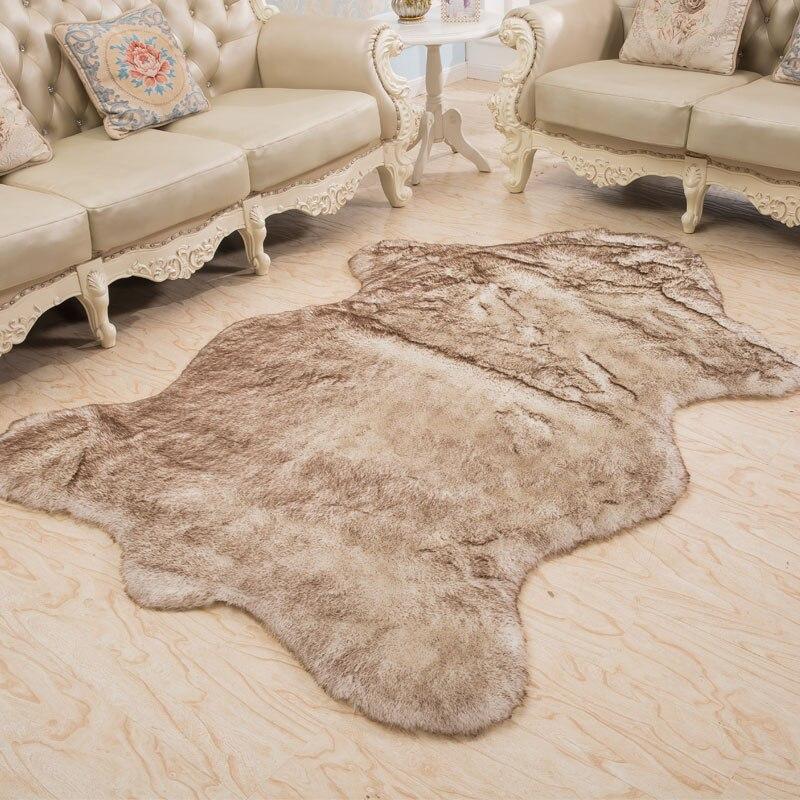 Area Rug Tiger Fur Imitation Carpet