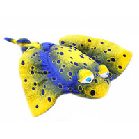 Free Shipping Ray Fish 42cm Plush Toys Small Size Cartoon Stuffed Animals Cushion Kids Toys The