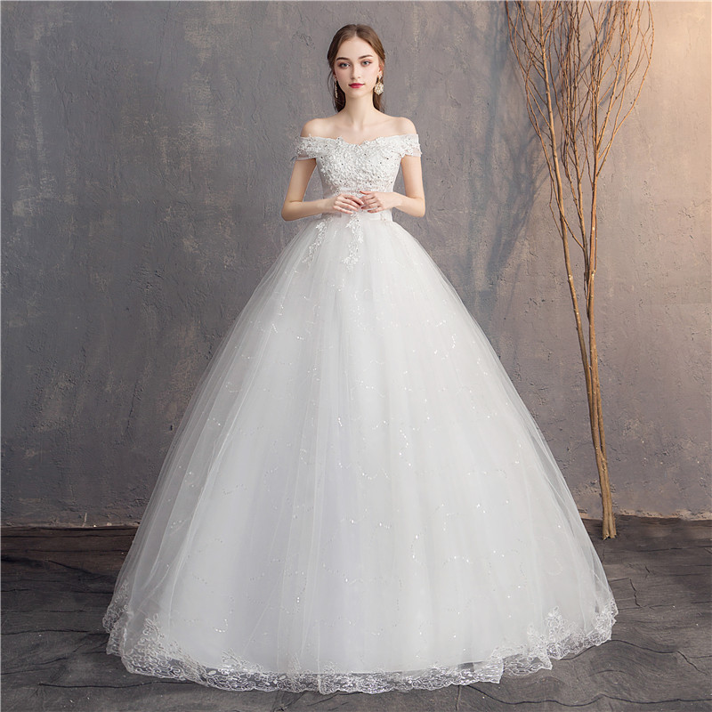Do Dower Lace Embroidery 2019 Wedding Dresses Sweetheart Elegant Plus Size Cheap Wedding Dress Vestido De Noiva Bride
