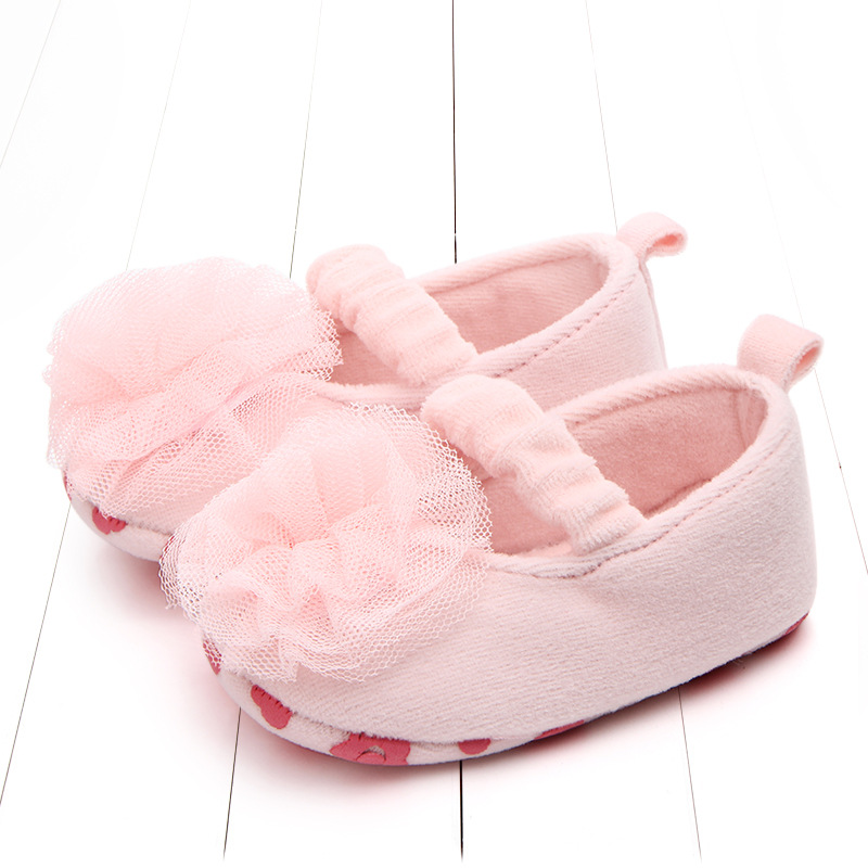 Promotion 1pair Infant Baby Shoes First Walker Girl Crib Shoes, antislip Kids/Newborn soft shoes, Super Quality