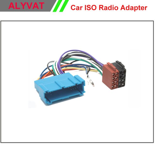 Car Stereo ISO Wiring Harness For Buick 1995 2004 Cadillac ...