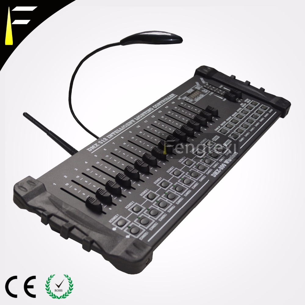 384b Wireless Dmx 512 Console With 2 4g