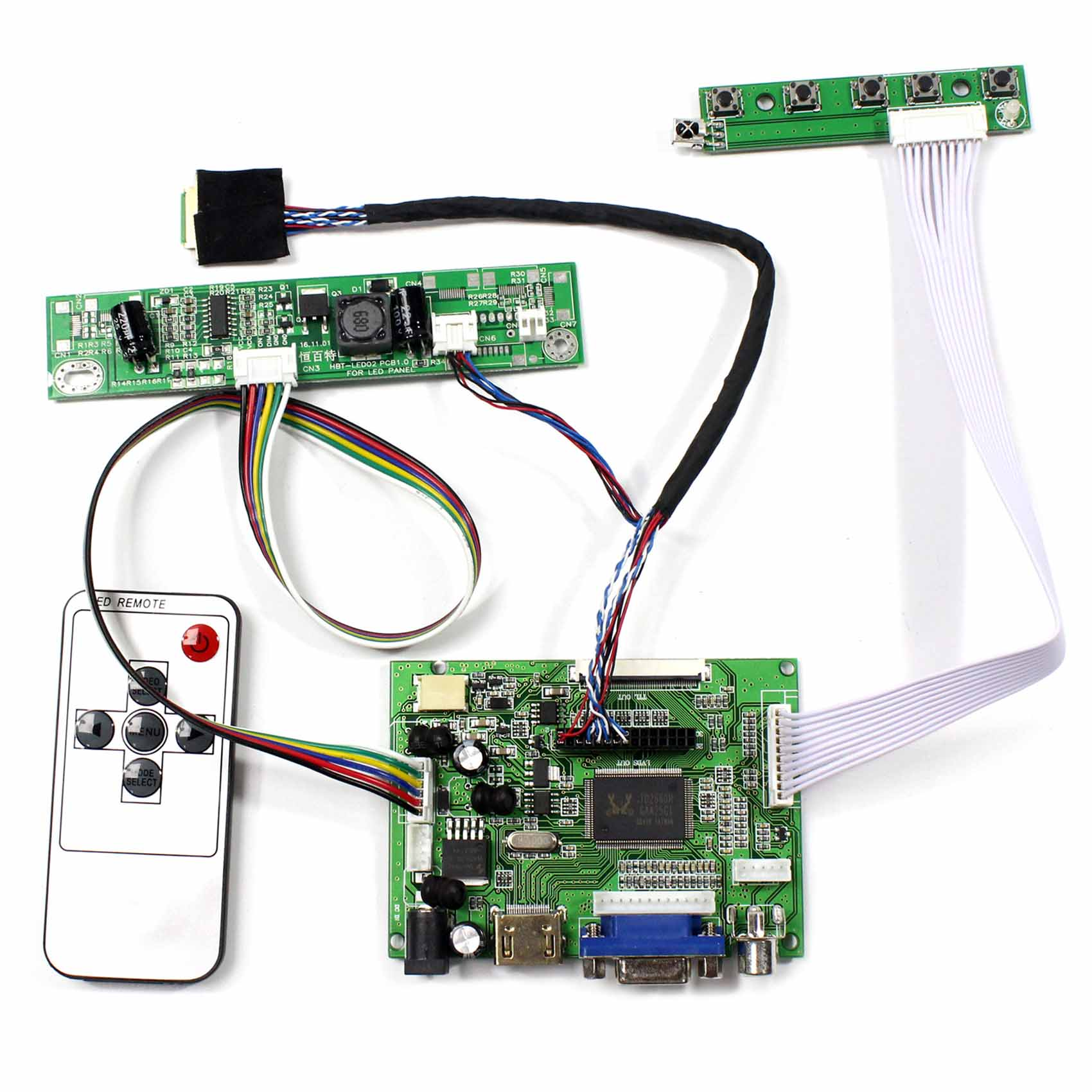 HDMI+DVI+VGA+AUDIO LCD Controller Board for N133IGE-L41 1280*800