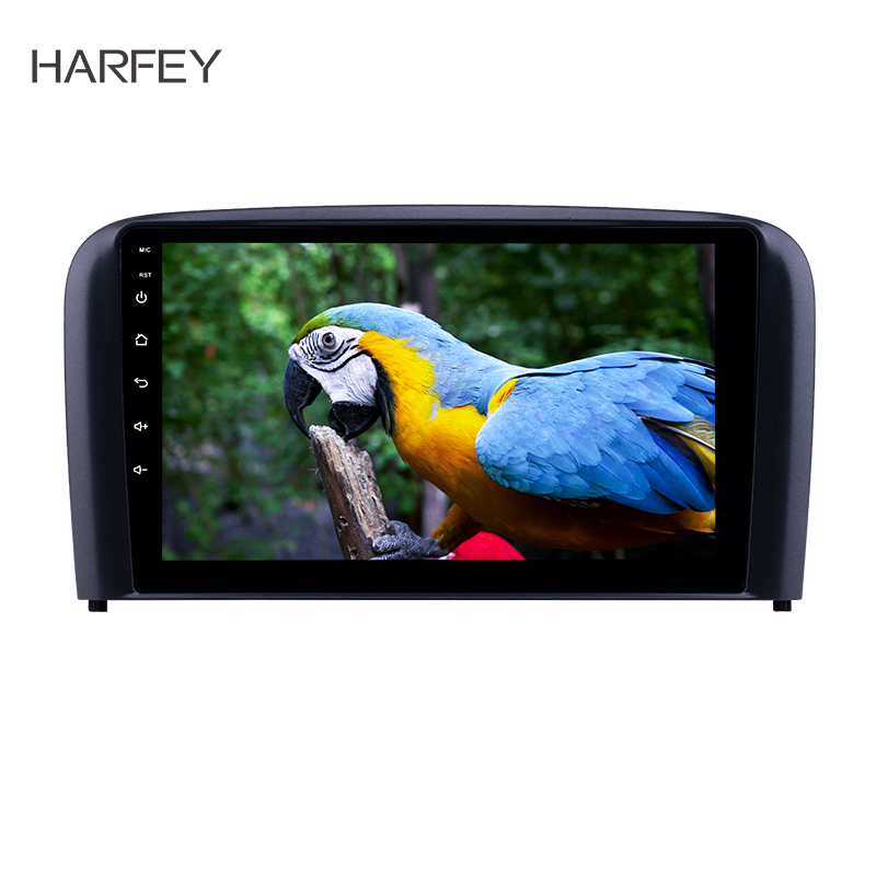 Harfey 2din 9 дюймов Android 8,1 автомобильный блок радио для 2004 2005 2006 Volvo S80 gps Navi USB AUX поддержка Carplay DVR OBD Цифровое ТВ image