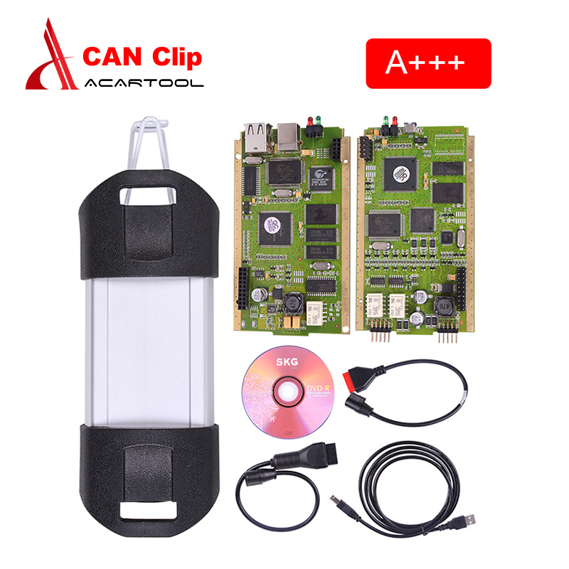 A++ Best quality Renault Can Clip V156 Best Quality multi-languages Professional Diagnostic Tool renault clip Free shipping best quality
