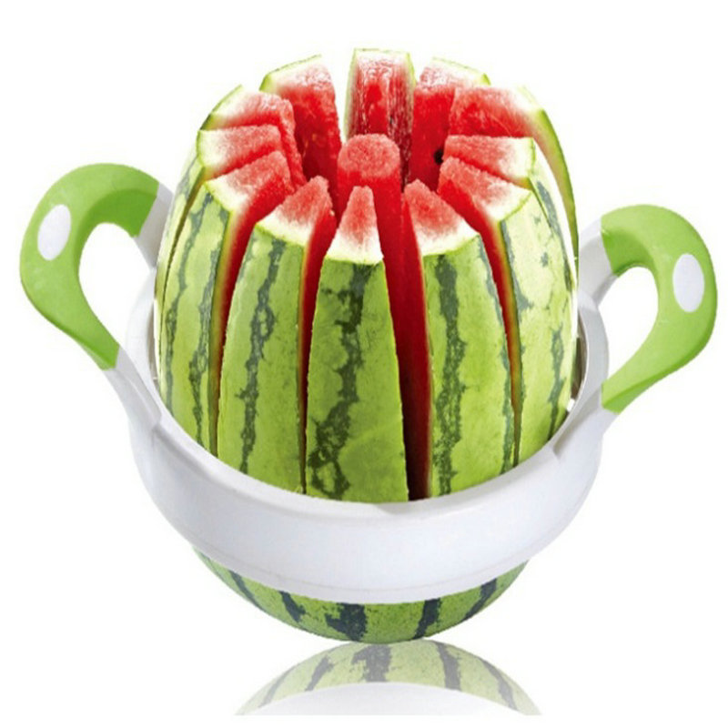 High Quality 38cm Stainless Steel Watermelon Cutter Fruit Shredder &Slicer Tools Kitchen Accessories