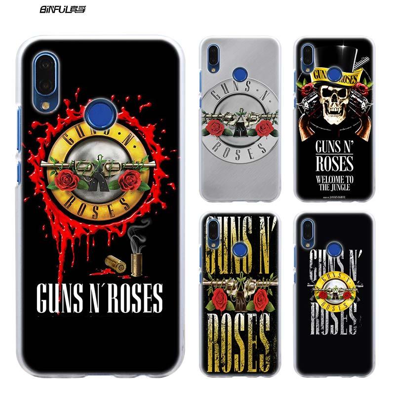 Guns n roses good time Hard Plastic Phone Clear Case for Huawei P ...