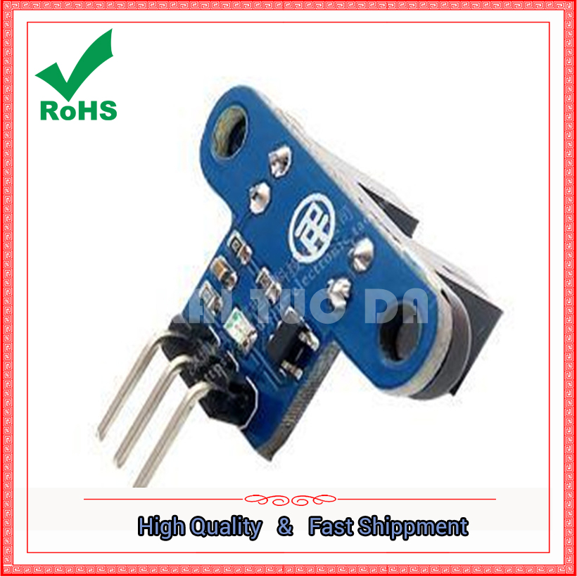 Intelligent trolley speed module code counting speed sensor with indicator light