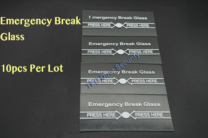 10Pcs Per Lot Emergency Break Glass FULL ENGLISH 911 Alarm Button for Fire and Emergency A part of Access System free shipping plastic break glass emergency exit escape life saving switch button fire alarm home safely security red